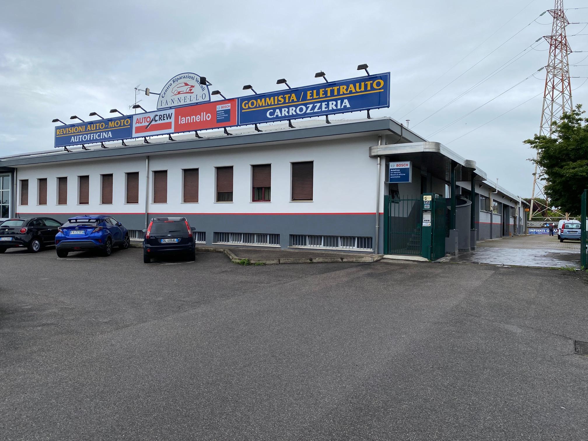 Sede Centro riparazione veicoli iannello